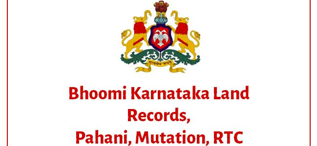 Bhoomi map, Online app, Online Parihara, Online Reports, Online form 57, Podi, RTC haveri, Bhoomi bank, Mutation, Surveys,