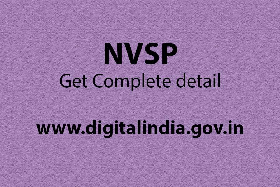 NVSP registration, Trek, Notice, Form 7, Otp not coming, How to get certificate from Electoral, nvsp age declaration form, Form Fill up date extension,