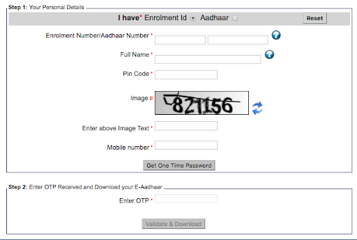 eaadhar.uidai.gov.in, Masked Aadhar Card, OTP, TOTP, Download Aadhar Card, Unique Identification Number, E Aadhar Download,