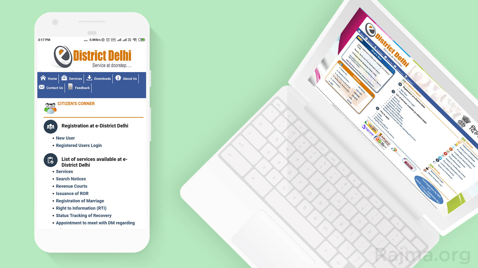 eDistrict, eDistrict ration card, eDistrict civil defence, eDistrict delhi ration card apply online, eDistrict portal, e-district citizen registration, eDistrict status check, eDistrict Delhi helpline no,
