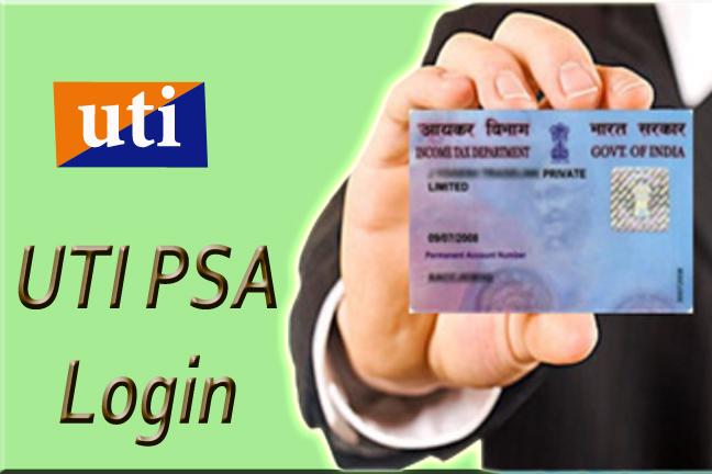 UTI PAN login, UTI PAN status, UTI PAN card status, UTI PAN download, My PSA login, UTI mutual fund login, PAN card status UTI PSA login, UTI PSA registration,