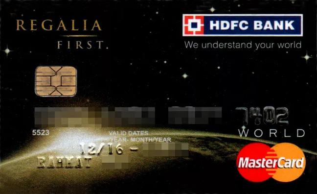 HDFC CC Login