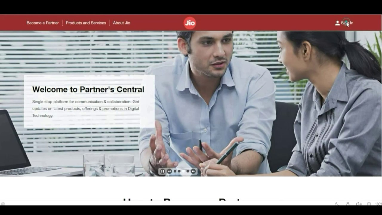 Jio Partner Central